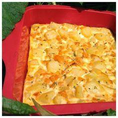 Cuisine Ma-Ligne!: Tortilla poivrons-feta ww (7pp)