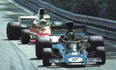 6- Jacky Ickx – John Player Team Lotus – Lotus 72E Ford Cosworth DFV (3.0L V8)  2- Jochen Mass – Marlboro Team Texaco – McLaren M23 Ford Cosworth DFV (3.0L V8)  Gp España 1975 - Circuit de Montjuic