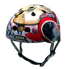 My nutcase helmet.