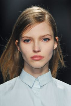Sasha Luss at No.21, fall 2013