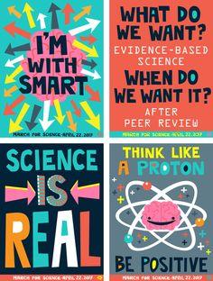 think like a proton - be positive