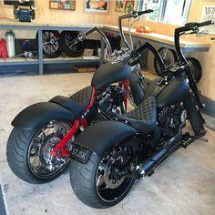 Harley Davidson News – Harley Davidson Bike Pics Harley Davidson Road King, Harley Davidson Trike, Harley Davidson Street, Davidson Bike, Bobber Bikes, Bobber Motorcycle, Motorcycle Garage, Moped Bike, Motorcycle Quotes