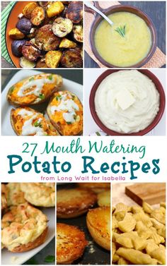 27 Mouth Watering Potato Recipes - Long Wait for Isabella | #ComfortsFromHome ad | #Vegetarian