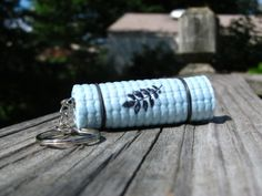 Check out these fun mini yoga mat keychains on Etsy!