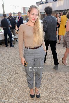 Actress Jemima Kirke attends Pioneer Works 2nd Annual Village Fete presented by BOMBAY SAPPHIRE GIN at Pioneer Works Center for Art + Innovation on May 3, 2015 in New York City.