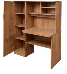 Buy Study Table in Knotty Wood Finish by Crystal Furnitech Online - Modern - Study & Laptop Tables - Pepperfry Modern Study, Bed Furniture Design, Wardrobe Door Designs, Furniture, Cabinet Furniture, Study Table Designs, Study Table, Computer Desk Design, Modern Wooden Furniture