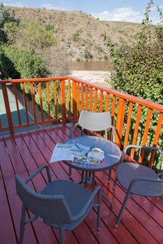 Deck Upstairs