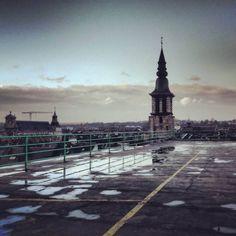 Namur depuis un parking