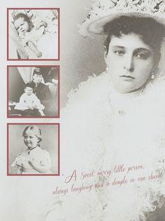 "Orincess Alix of Hesse (Darmstadt) and By Rhine ~ Empress Alexandra Feodorovna of Russia. ""AL"""