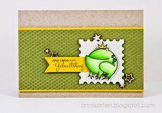 Annikarten: TAWS Be Inspired # 54 Paper Smooches: A Little Lovin'
