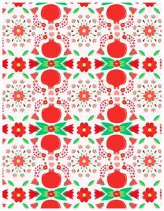Robin Sheldon: Pomegranate Pattern!