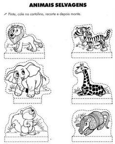 Atividades pré-escolar Animais - Educação Online