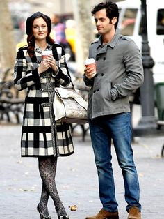 Blair Waldorf with mixed patterns done right.