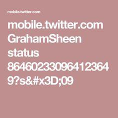 mobile.twitter.com GrahamSheen status 864602330964123649?s=09