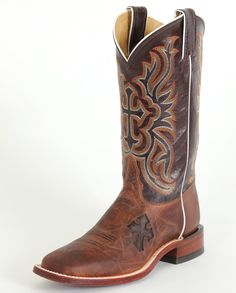 Tony Lama Ladies' Nicotine Cross Cowgirl Boots - www.fortwestern.com