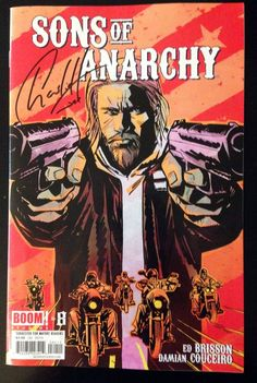 """Sons of Anarchy"" Comic Book - Boom Studios Issue #8 Autographed Copy"