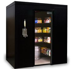 BrewCave Walk-In Beer Cooler & Kegerator from KegWorks