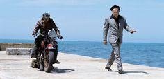 Retrato de un freaky de la velocidad. 'Scureza' en la película Amarcord de Fellini (1973).