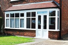 UPVC Porch and Bay Combination with Rehau Frame work and French Doors  Sometimes just simple window and door replacements can really freshen up your home. Run down windows and doors really stand out from the crowd for all the wrong reasons, if you like your existing window style a simple renovation can sometimes really help freshen up and renew the look of your property.