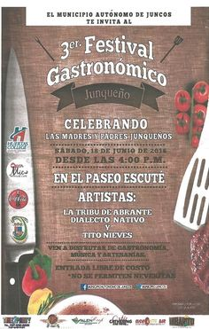 Festival Gastronómico Junqueño 2016 #sondeaquipr #festivalgastronómicojunqueno #paseoescute #juncos #gastronomiapr
