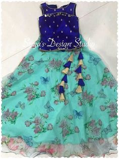 28 ideas for dress princess pattern girls Kids Party Wear Dresses, Kids Dress Wear, Kids Gown, Dresses Kids Girl, Kids Wear, Kids Outfits, Baby Girl Frocks, Frocks For Girls, Baby Frocks Designs