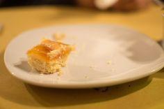 Apricot Cake, Trattoria Zampagna, Rome, Italy