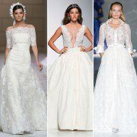 50 robes de mariée en dentelle pour 2015!