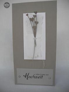 Der Kreativpunkt: Hochzeitskarte 12/16