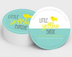 100 Printed Round Business Cards 100 250 or 500 Quantities Business Card Maker, Business Card Logo, Business Card Design, Self Branding, Personal Branding, Name Card Design, Bird Logos, Art Prints Quotes, Visual Identity