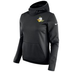 2b220f9eb54c Women s Nike Oregon Ducks All Time Tech Fleece Hoodie ( 77) ❤ liked on  Polyvore featuring tops