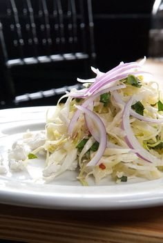 The Gray House's cabbage and cava salad: 50 Favorite Dishes, no. 40