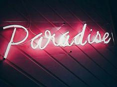 #art #neon #paradise