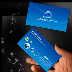 Blue card psd templates free download card httpweilipic it technology network information card psd templates free download card http reheart Image collections