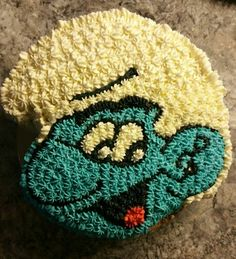 Smurffikakku  -  Resistance cake