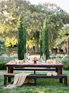 Luxurious Natural Outdoor Wedding Reception inspiration| Jose Villa Photography  www.MadamPaloozaEmporium.com www.facebook.com/MadamPalooza