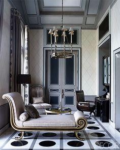 Bedroom Sitting Area - ELLE DECOR
