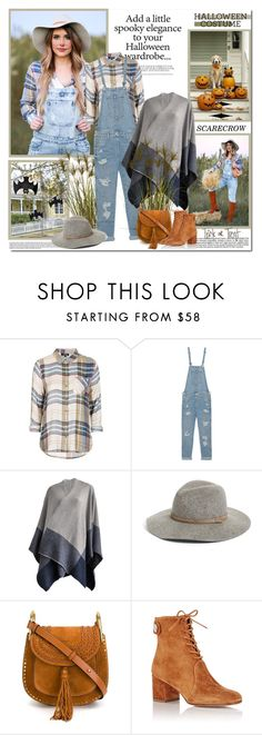 """Scarecrow!!"" by lilly-2711 ❤ liked on Polyvore featuring Topshop, True Religion, Inverni, rag & bone, Industrie, Chloé and Gianvito Rossi"
