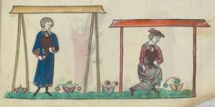 FRÉDÉRIC II , traité de fauconnerie , traduction française, faite à la demande de Jean, sieur de Dampierre et de Saint-Dizier, et de sa fille Isabelle.  Date d'édition :  1201-1300  Français 12400  Folio 142r