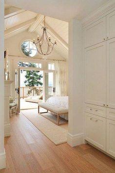 "Gotta Give"" Inspired Home Master Bedroom. Sunshine Coast Home Design. Sunshine Coast Home Design. Luxury Interior Design, Home Interior, Nautical Interior, Interior Modern, Interior Doors, Design Interiors, Modern Exterior, Interior Paint, Cottage Homes"