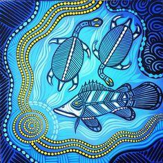 australian aboriginal fish - Google Search