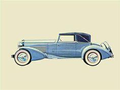 Car Illustration, Illustrations, Car Drawings, Custom Art, Cars Motorcycles, Vintage Cars, Automobile, Vehicles, Hollywood