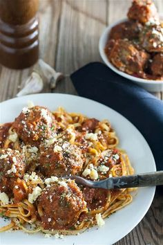Dress these Venison Meatballs with anything you like! Serve them with pasta and sauce, or make some appetizer meatballs! Deer Recipes, Veggie Recipes, Cooking Recipes, Game Recipes, Veggie Food, Cooking Tips, Recipies, Corned Venison Recipe, Ground Venison Recipes