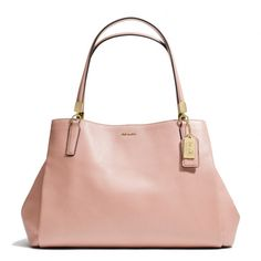 The Madison Cafe Carryall In Leather from Coach- Can we talk about how fabulous Coach is now?!?! Gone are the garish prints! Now it's all chic, simplicity! Thank you!