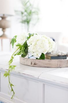Try These Easy Decorating Tips When Working with Candles White Anemone, White Tulips, White Flowers, Beautiful Flowers, Crate And Barrel, Hydrangea Colors, Green Hydrangea, White Hydrangeas, White Cottage
