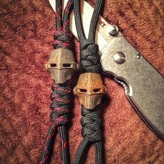 Unique creations very reasonably priced by Buggin Out Kustoms at @buggin_out_knots:  High quality para-creations/