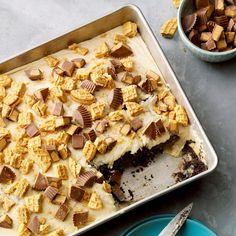 65 Potluck Desserts to Feed a Crowd Poke Cake Recipes, Poke Cakes, Cookie Recipes, Cupcake Cakes, Fudge Recipes, Pudding Recipes, Bread Recipes, Baking Recipes, Vegetarian Chocolate Cake