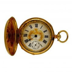 Gold pocket watch, early 20th Century Gold Pocket Watch, Barcelona, Watches, Accessories, Home, Art, Clocks, Barcelona Spain, Clock