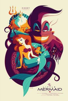 Cool The Little Mermaid Art