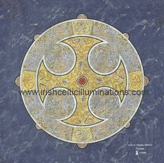 Celtic Shields & Mandalas : Celtic Cross Shield by Jeff Fitzpatrick Adams Irish Celtic, Celtic Art, Celtic Shield, Craft Gifts, Mandalas, Kid Craft Gifts
