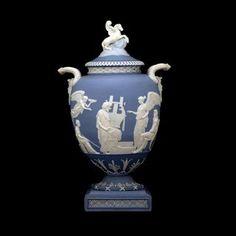 "Image detail for -22. England, Wedgwood, ""Pegasus"" vase, 1786, jasperware, John ..."